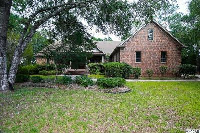Pawleys Island Single Family Home Active-Pending Sale - Cash Ter: 140 Heritage Dr
