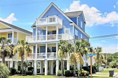 Surfside Beach Single Family Home For Sale: 614-B N Ocean Blvd