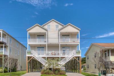 North Myrtle Beach Single Family Home For Sale: 4618 Surf Street