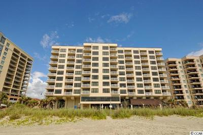 North Myrtle Beach Condo/Townhouse For Sale: 523 S Ocean Blvd. #307