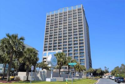 Myrtle Beach Condo/Townhouse For Sale: 5523 N Ocean Blvd #809