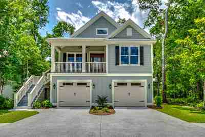 Murrells Inlet Single Family Home For Sale: 3867 Spanner Way
