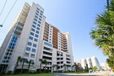 North Myrtle Beach Condo/Townhouse For Sale: 1401 S Ocean Blvd. #601