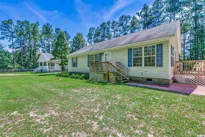 Galivants Ferry Single Family Home Active-Pend. Cntgt. On Financi: 2409 Grier Dock Rd