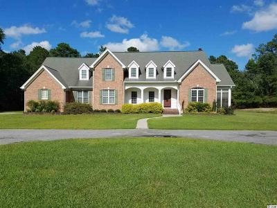 Conway Single Family Home For Sale: 2010 Pee Dee Hiwy