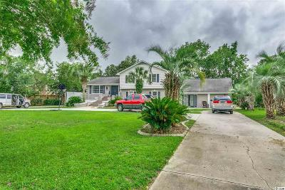 Surfside Beach Single Family Home For Sale: 1619 Longleaf Dr