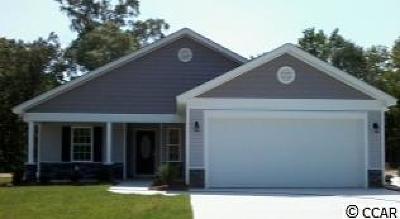 Longs Single Family Home Active-Pend. Cntgt. On Financi: Tbd Lot 22 Sun Colony Blvd