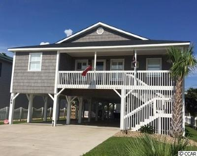 North Myrtle Beach Single Family Home Active-Pending Sale - Cash Ter: 346 52nd Avenue