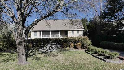 Pawleys Island Single Family Home For Sale: 91 Lakeshore Drive