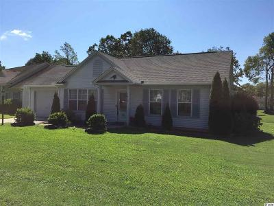 Murrells Inlet Single Family Home For Sale: 1615 Wood Thrush Dr