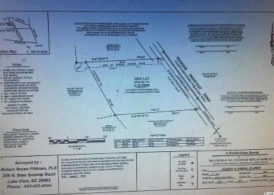 Galivants Ferry SC Residential Lots & Land For Sale: $34,000