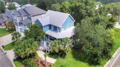 Murrells Inlet Single Family Home For Sale: 4 Cottage Drive