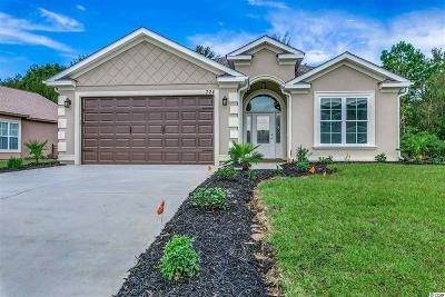 Myrtle Beach Single Family Home For Sale: Lot 56 Cabazon Dr