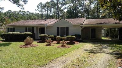 Pawleys Island Single Family Home For Sale: 139 Springfield Road