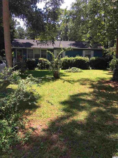 Myrtle Beach SC Single Family Home For Sale: $154,900