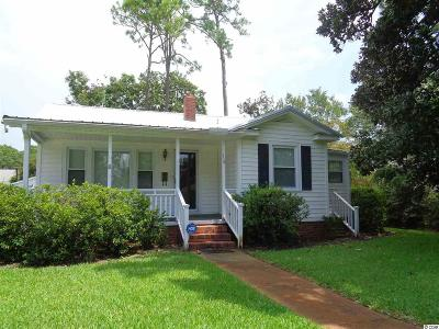 Myrtle Beach SC Single Family Home For Sale: $169,000