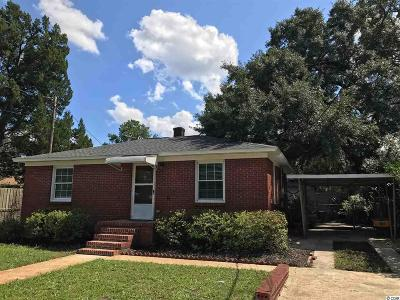 Georgetown Single Family Home Active-Pending Sale - Cash Ter: 605 Cook St