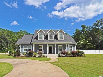 Murrells Inlet Single Family Home For Sale: 595 Fox Hollow Road