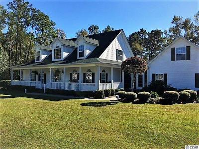 Myrtle Beach Single Family Home Active-Pend. Cntgt. On Financi: 165 Duck Blind Trail