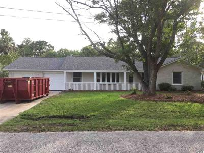 Surfside Beach Single Family Home Active-Pending Sale - Cash Ter: 511 N 8th