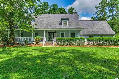 Murrells Inlet Single Family Home Active-Pending Sale - Cash Ter: 1670 Wachesaw Road