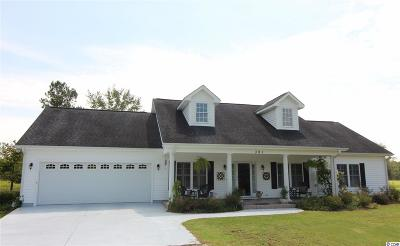 Loris Single Family Home Active-Hold-Don't Show: 391 Goretown Loop