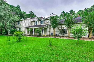 Pawleys Island Single Family Home For Sale: 730 Country Club Drive
