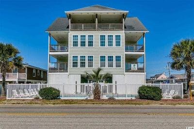 North Myrtle Beach Single Family Home For Sale: 5109 N Ocean Blvd Side A