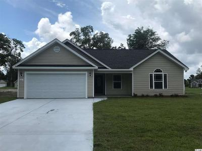 Galivants Ferry SC Single Family Home For Sale: $151,400