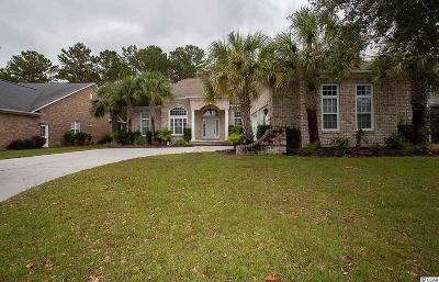 North Myrtle Beach Single Family Home For Sale: 5413 Pheasant Dr
