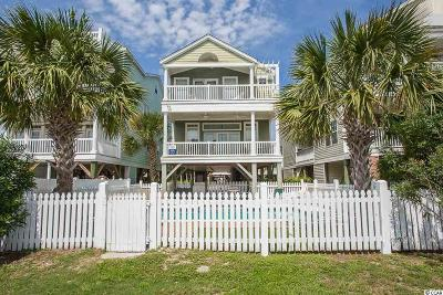 Surfside Beach Single Family Home For Sale: 121 S Ocean Blvd