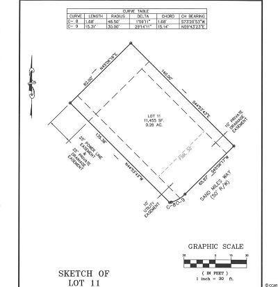 Georgetown County, Horry County Residential Lots & Land For Sale: 6009 Sandy Miles Way
