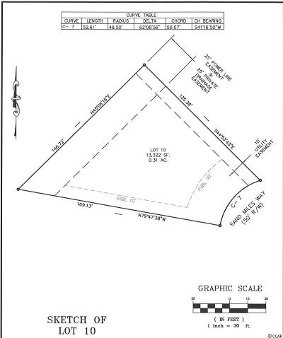 Georgetown County, Horry County Residential Lots & Land For Sale: 6005 Sandy Miles Way