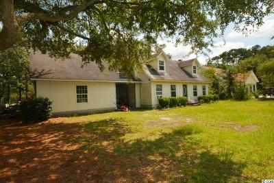 Pawleys Island Single Family Home Active-Pending Sale - Cash Ter: 19 Springfield Road