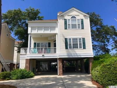 Surfside Beach Single Family Home For Sale: 214 Willow Dr