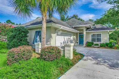 Murrells Inlet Single Family Home For Sale: 9819 Simonton Court