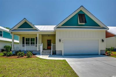 Pawleys Island Single Family Home For Sale: 416 Minnow Dr