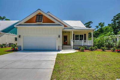 Pawleys Island Single Family Home For Sale: Lot 9 Minnow Dr