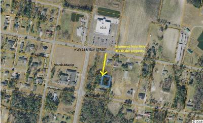 Aynor SC Residential Lots & Land Active-Pending Sale - Cash Ter: $15,900