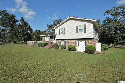 Conway Single Family Home For Sale: 4826 Pee Dee Highway