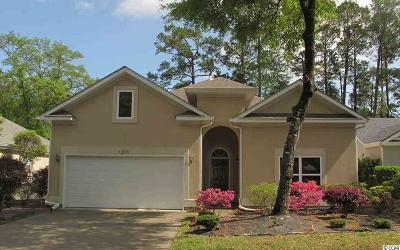 North Myrtle Beach Single Family Home For Sale: 1205 Trisail Lane