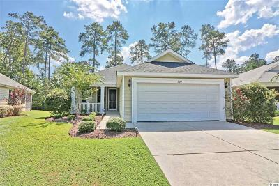 Murrells Inlet Single Family Home For Sale: 221 Castle Pines Lane