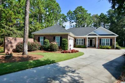 Pawleys Island Single Family Home For Sale: 168 Prestwick Drive
