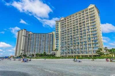 North Myrtle Beach Condo/Townhouse For Sale: 4800 S Ocean Blvd #515