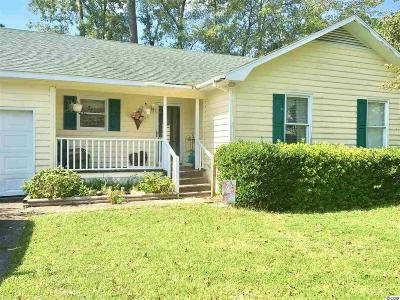 Myrtle Beach SC Single Family Home For Sale: $99,000