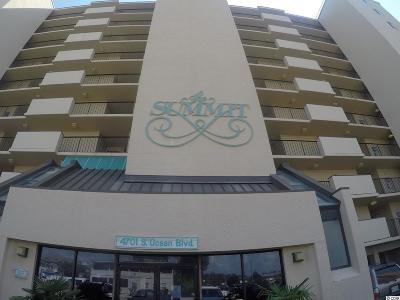 North Myrtle Beach Condo/Townhouse For Sale: 4701 S Ocean Blvd #6-B