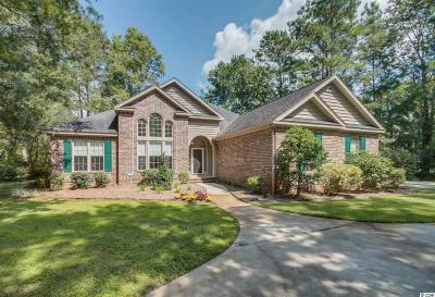 Pawleys Island Single Family Home For Sale: 455 Shore Rush Drive