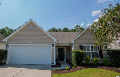 Murrells Inlet Single Family Home For Sale: 358 Whitchurch Street