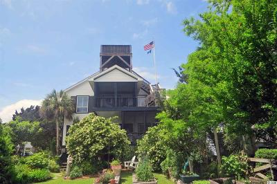 Pawleys Island Single Family Home For Sale: 191 Atlantic Avenue