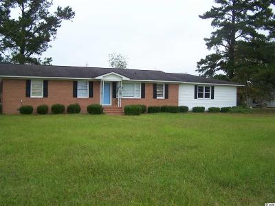 Galivants Ferry SC Single Family Home For Sale: $149,000